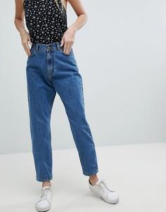Джинсы в винтажном стиле с завышенной талией Dr Denim Nora - Синий