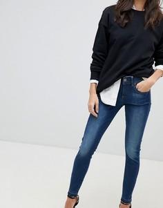 Укороченные джинсы скинни с классической талией G-Star Lynn - Синий
