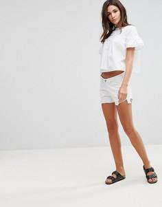 Обрезанные шорты Waven Tyra - Белый