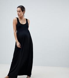 Платье макси ASOS DESIGN Maternity - Черный