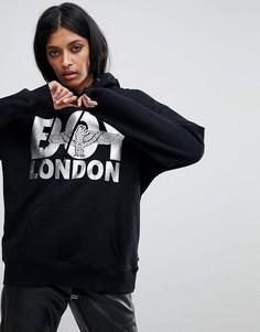 Худи с логотипом Boy London - Черный