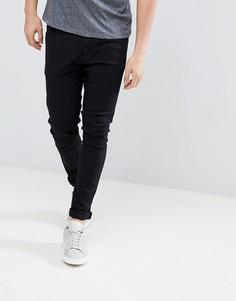 Черные джинсы с напылением LDN DNM - Черный