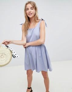 Свободное платье ASOS DESIGN - Синий