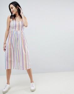 Легкое платье в полоску Sugarhill Boutique - Мульти