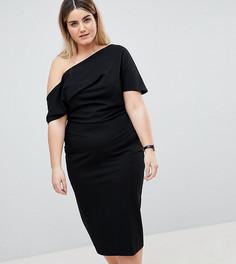 Платье-футляр ASOS DESIGN Curve - Черный