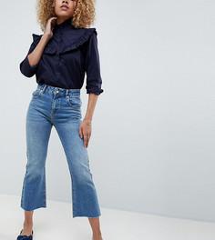 Укороченные расклешенные джинсы ASOS DESIGN Petite - Синий