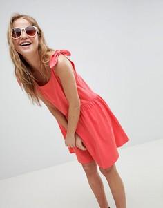 Свободное платье ASOS DESIGN - Красный