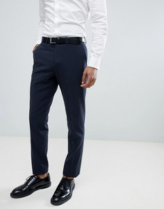 Узкие темно-синие брюки Lindbergh Wedding - Синий
