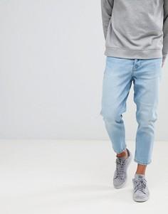 Укороченные джинсы скинни Only & Sons - Синий