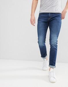 Темно-синие зауженные джинсы Esprit - Синий