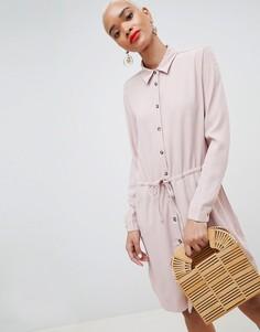 Платье-рубашка mByM - Фиолетовый
