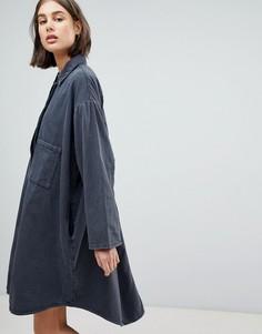 Платье-рубашка Waven Sigvor - Черный