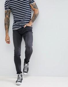 Черные супероблегающие джинсы Lee Malone - Черный