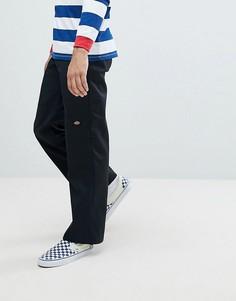 Черные брюки свободного кроя с накладками на коленях Dickies - Черный