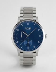 Серебристые наручные часы BOSS 1513597 Oxygen - Серебряный