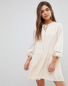 Свободное платье After Market - Кремовый