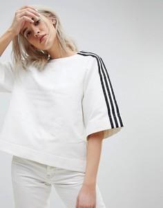 Свитшот с короткими рукавами adidas Originals - Черный