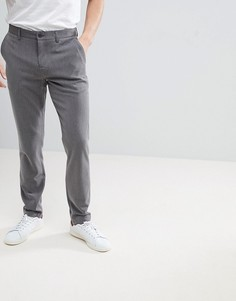 Серые зауженные брюки Lindbergh - Серый