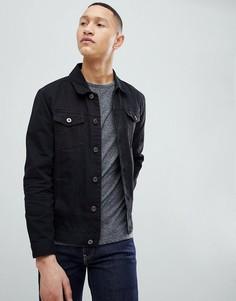 Джинсовая куртка Brave Soul Classic - Черный