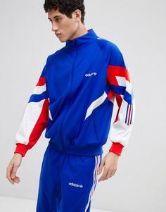 Синяя спортивная куртка adidas Originals Vintage CE4828 - Синий