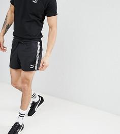 Черные шорты с фирменной лентой Puma эксклюзивно для ASOS - Черный