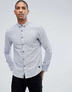 Рубашка в полоску Tom Tailor - Белый