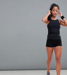 Спортивные шорты ASOS 4505 PETITE - Черный