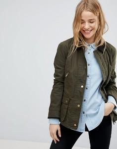 Вощеная куртка Jack Wills Austell - Зеленый