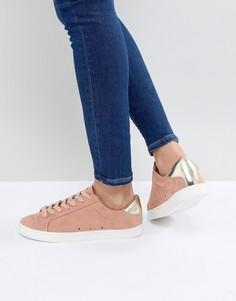 Кроссовки со шнуровкой ASOS DELINA - Оранжевый