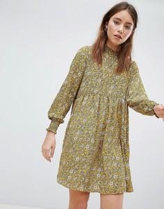 Свободное платье с цветочным принтом JDY - Мульти