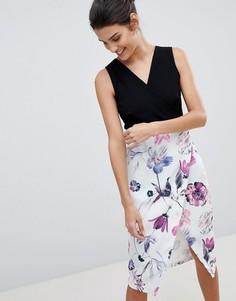 Платье-футляр 2 в 1 Closet - Мульти