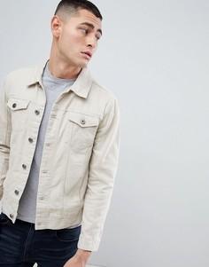 Джинсовая куртка Brave Soul Classic - Светло-бежевый
