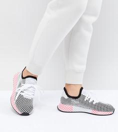 Черно-розовые кроссовки adidas Originals Deerupt - Черный