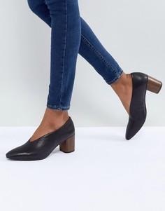 Черные туфли на деревянном каблуке Vagabond Eve - Черный