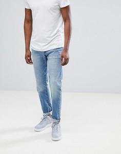 Выбеленные джинсы классического кроя Jack & Jones - Синий