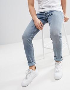Темно-синие джинсы скинни Diesel Tepphar - Синий