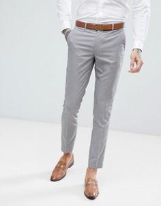 Сиреневые брюки скинни в ломаную клетку Harry Brown - Фиолетовый