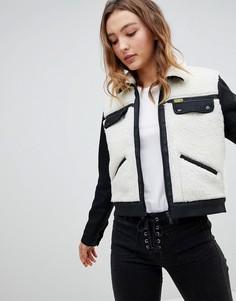 Куртка из искусственного меха Wrangler x Peter Max - Белый