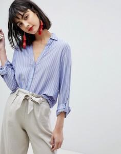 Рубашка в полоску Esprit - Мульти