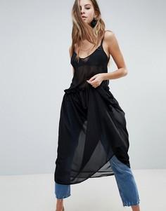 Платье миди Oh MyLove - Черный