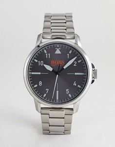 Серебристые часы BOSS Orange 1550064 Chicago - Серебряный