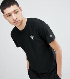 Черная футболка New Era Dryera Series New Raiders эксклюзивно для ASOS - Черный