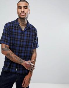 Рубашка с короткими рукавами Carhartt WIP Lyndon - Синий