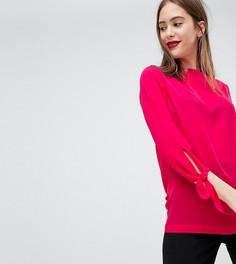 Блузка с рукавами на завязках Y.A.S Tall Luski - Красный