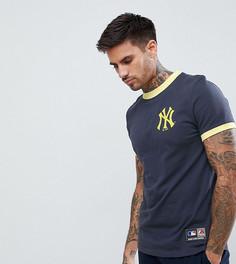 Темно-синяя футболка Majestic Yankees - Темно-синий