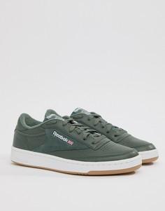 Зеленые кроссовки Reebok Club C 85 Essential CM8793 - Зеленый