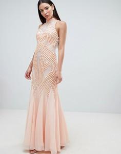 Платье макси Forever Unique - Розовый
