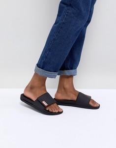 Черные сандалии Hunter Original - Черный