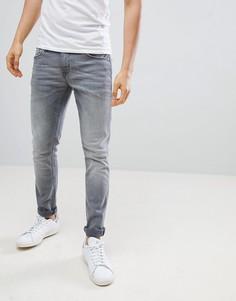 Серые зауженные джинсы Blend Cirrus - Серый