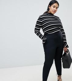 Укороченные брюки ASOS DESIGN Curve - Черный